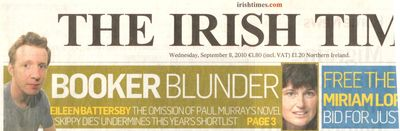 Booker Blunder Irish Times 8 9 10