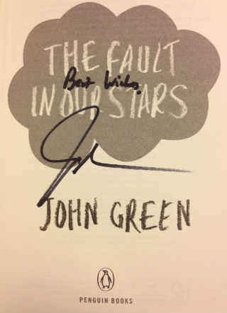 John Green book signing