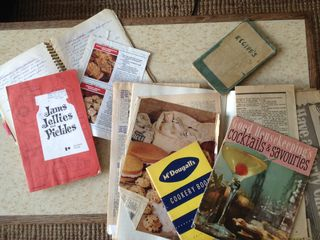 The heirloom cookery books